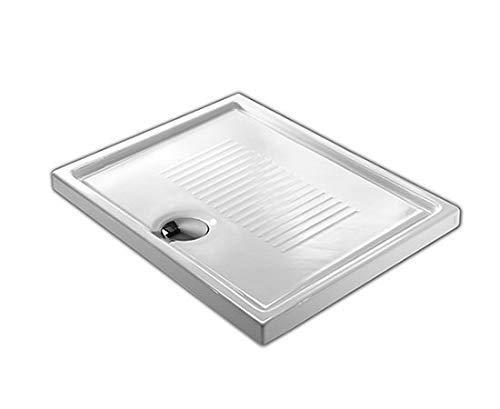Piatto doccia in ceramica 90X70 slim H cm 6 bianco lucido modello Lif di Hatria