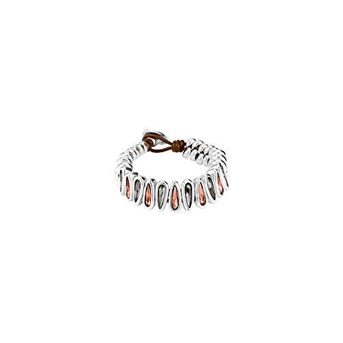 Uno de 50 dames schakelarmbanden verzilverd PUL1746MCLMTL0M