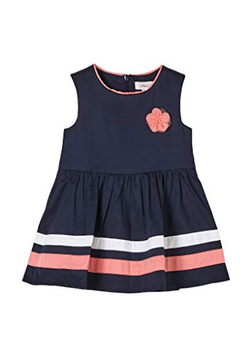 s.Oliver Junior Baby-Mädchen 405.10.104.20.200.2061944 Kinderkleid, Blue, 92