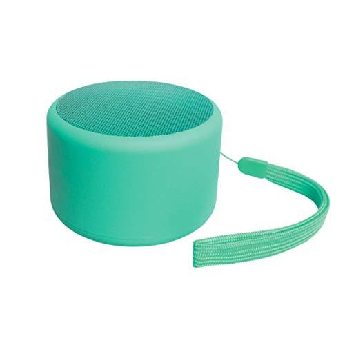 HIOD Altavoz Inalámbrico Bluetooth con Micrófono Alcance de Transmisión Bluetooth de 33 pies Ultraportátil Ligero Altavoz Inalámbrico,Green