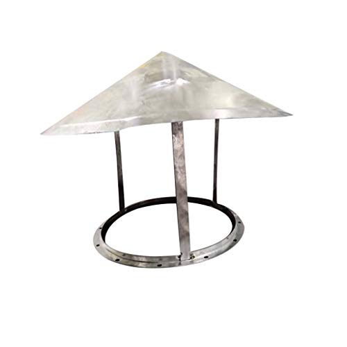For Sale! LXLTL Chimney Cowl Cap,Stainless Steel for Ducting Ventilation Cap Rain Hat Hood Pipe Rain...