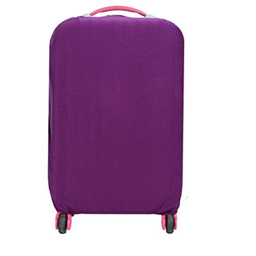 WINOMO Funda de maleta Cubierta Maleta de Equipaje con 18-20 pulgadas (Morado)