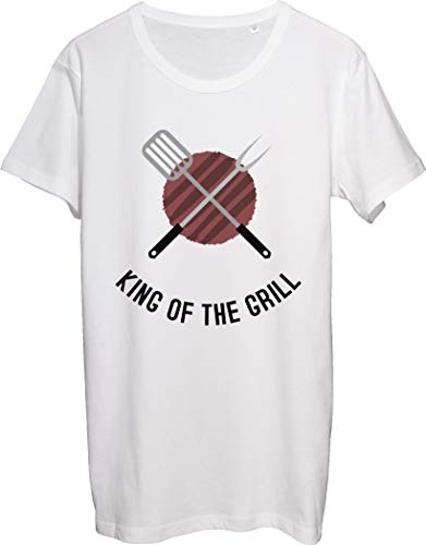 King of The Grill Cool Spatula Equipment for Grill Men's T-Shirt bnft X-Large White