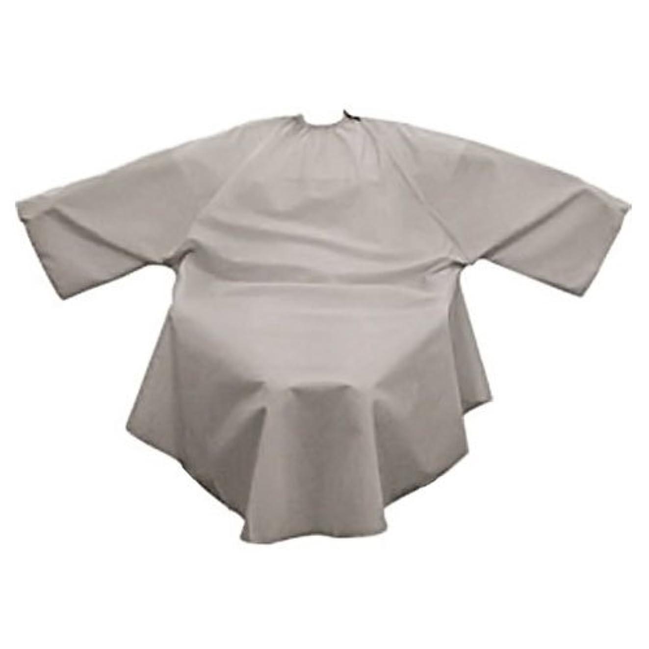 過度の着服感染するYSネックフィットガウン シルキー グレー