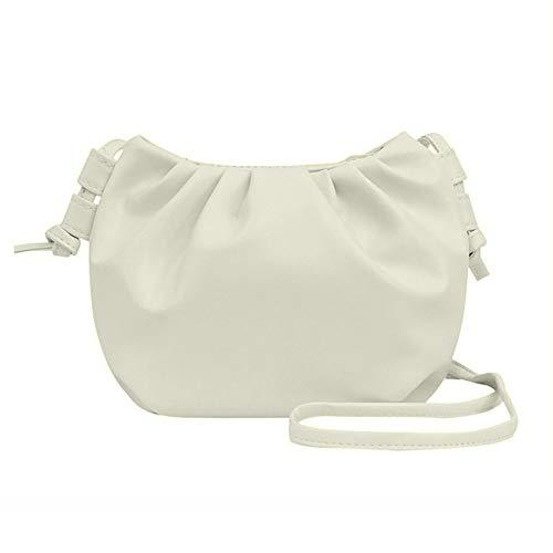 Ashley GAO Candy Color Shoulder Messenger Dumpling Bag Solid Color Shoulder Coin Phone Bag Female Small Ladies Handbag