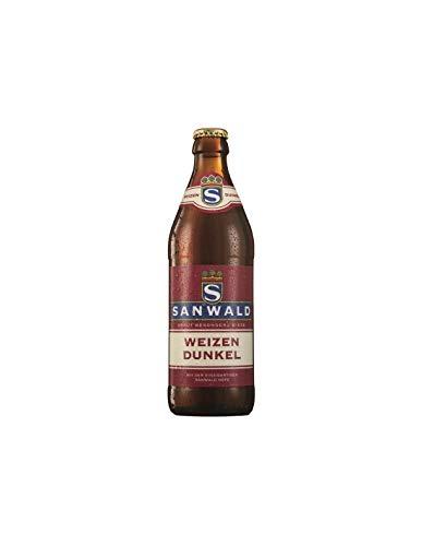 Cerveza Sanwald Hefe Dunkel 50Cl, disponible de 1 a 20 botellas