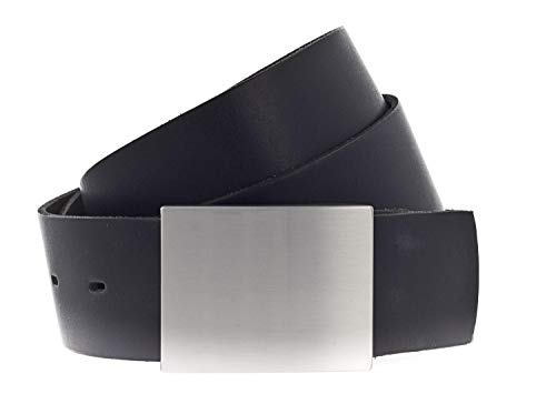 Vanzetti 40mm Leather Belt Classics 40mm Leather Belt W110 Black - raccourcie