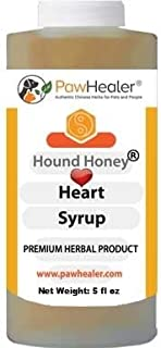 PawHealer Hound Honey: Heart Syrup - Herbal Remedy for Dog's Cough - 5 fl oz - Suppressant - Herbal Remedy - Gagging & Wheezing Due to Heart…
