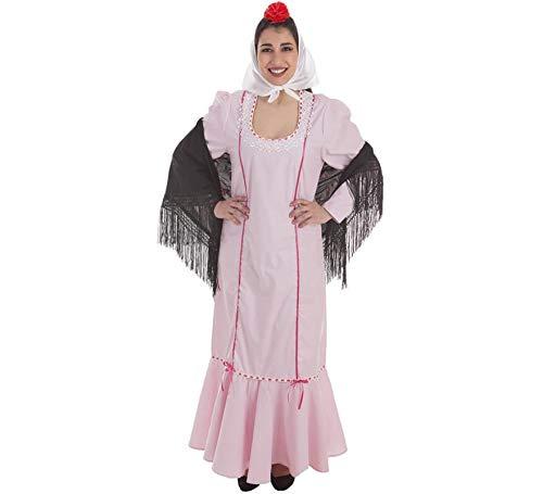Creaciones Llopis Disfraz de Chulapa Rosa para Mujer