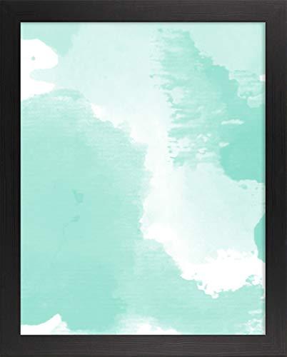 Misano rand fotolijst 20,1x23,2 Inch (51 x 59 cm) met Antireflecterende kunststof glas Perspex 23,2x20,1 Inch fotolijst Getextureerd Zwart
