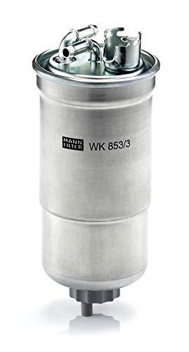 Original MANN-FILTER Filtro de Combustible WK 853/3 X – Set de Filtro de Combustible Juego de Juntas – Para automóviles