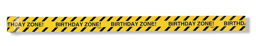 Birthday Zone Warning Tape, Under Construction