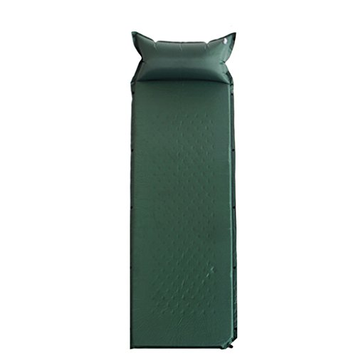 KUN PENG SHOP Coussin d'air extérieur coussin gonflable automatique coussin d'air de tente simple camping coussin de sécurité plus épais peut être cousu double A+