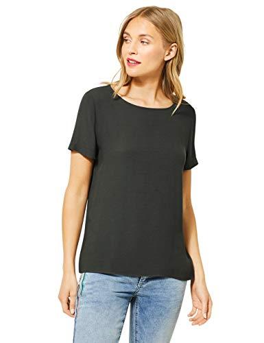 Street One Damen 315017 T-Shirt, Comfort Green, 42