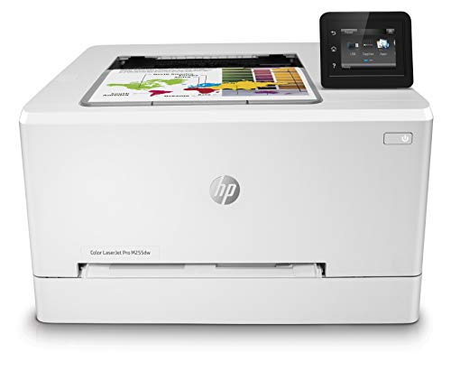HP Pro M255dw Stampante Colori Wi-Fi, fronte/retro automatica, Porta USB easy-access, Display Touchscreen, 21 ppm, A4, Bianca