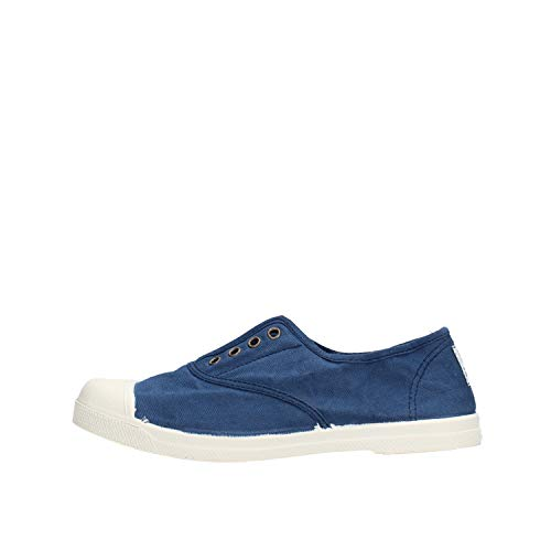 Zapatos Sport Joven Lonas Natural World 102 Azul 37