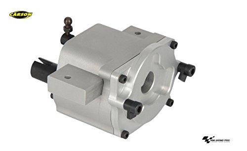 CARSON 500907265 - 1:14 Alu 2-Gang-Schaltgetriebe Compact, RC-Truck, Ersatzteile, Tuningteile, Zubehör, Modellbau, Maßstab 1:14