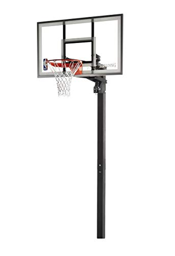 Spalding NBA Aluminum Trim Glass Backboard  In-Ground Basketball...