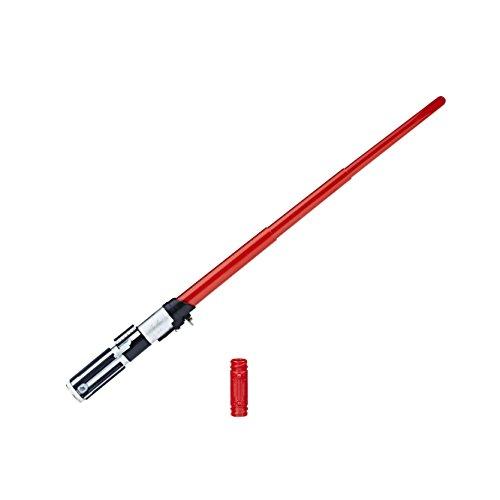 Hasbro Star Wars C1571ES0 Star Wars Episode 4 Elektronisches Lichtschwert DARTH VADER, Jungen