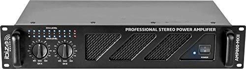Ibiza Sound & Light IBIZA AMP800-MKII 2x600W Bild