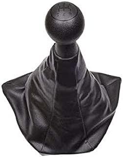 Aerzetix Funda Palanca de Cambio Piel Sintetica Negro Para Citroen Jumper 1 1994-2006
