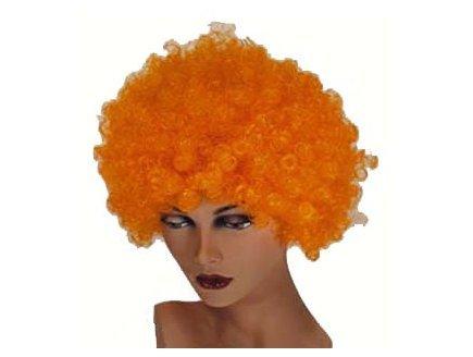 Perruque hair orange