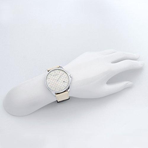 [グッチ] 腕時計 Gタイムレス ホワイトパール文字盤 YA126306 並行輸入品 ホワイト