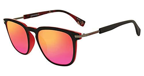 Converse SCO0515296SR Square Sunglasses Red/Black