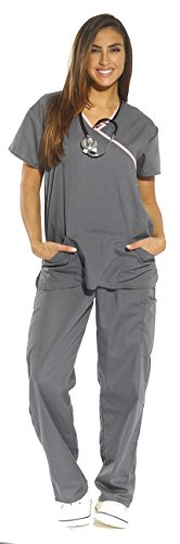 Just Love Women's Scrub Sets Medical Scrubs (Mock Wrap) 11134W-2X