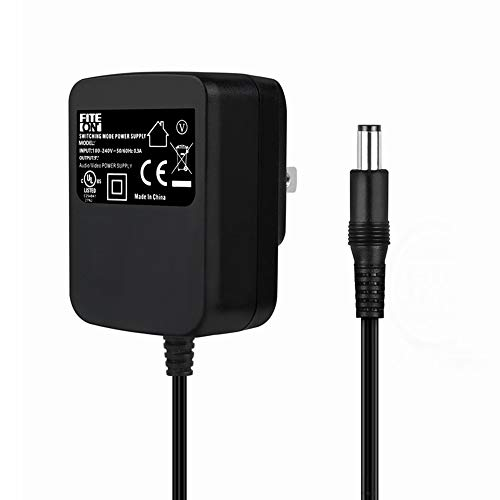 FITE ON 9V 1A AC/DC Adapter for X Rocker Game Gaming Chair 5127101 5142101 UL Listed X Rocker Power Supply Cord Charger