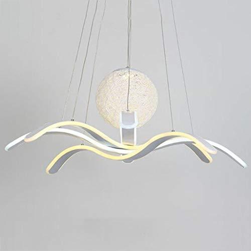 Candelabro, Candelabro LED Iluminación Candelabro de acrílico de Lujo para Sala de Estar Comedor Dormitorio Lustre Lámpara LED