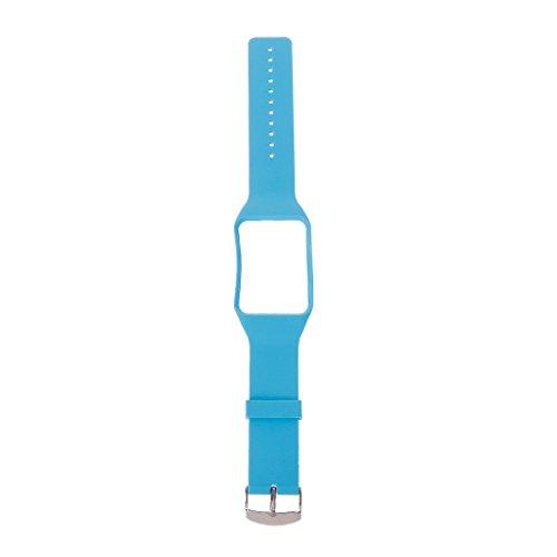 Team99 - Correa de silicona para reloj inteligente Sam-sung Ga-laxy Gear S SM-R750