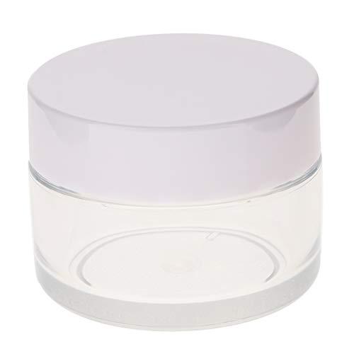 perfeclan En Plastique Cosmétique Cas Ongles Art Maquillage Maquillage Pot à Lèvres Pot Avec Bouchon à Vis Pour Produits De Beauté Et De Bricolage - Mat