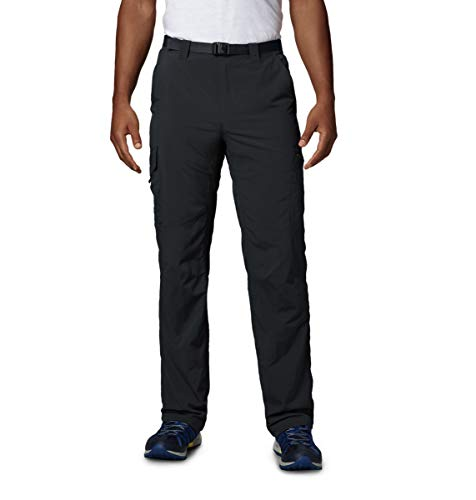 Columbia Men's  Men's Silver Ridge Cargo Pant , Black, 30x34