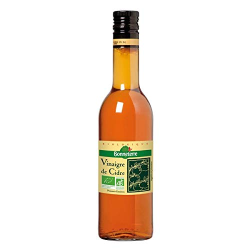 BONNETERRE - Vinaigre De Cidre Non Pasteurisé Bio 50Cl - Lot De 2