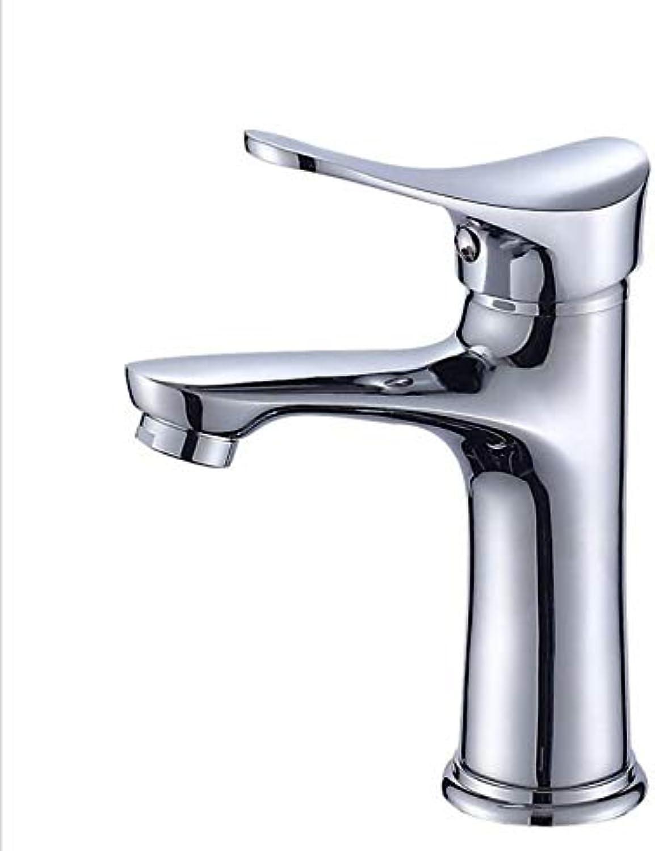 Bathroom washbasin hot and Cold Water Mixing Copper Faucet Bathroom Vanity Basin