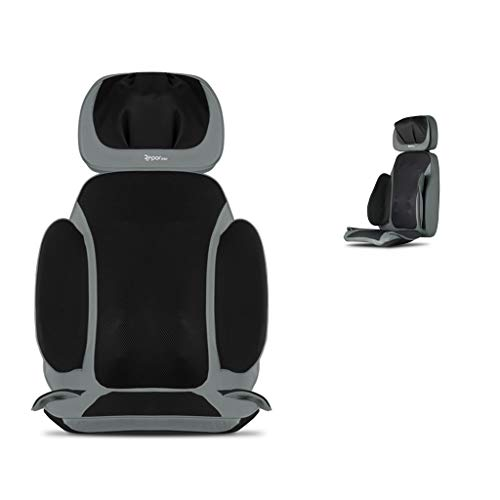 Back Massagers Massage Chair Massage Mat Cervical Massager Home Multi-Function Massage Chair Whole Body Vibration Kneading Cushion Family Best Gift (Color : Gray, Size : 425285cm)