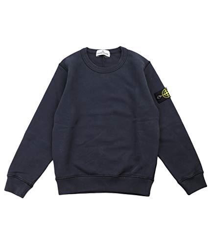 Stone Island Junior Sweatshirt with Application Bambino Kids Boy Mod. 731661340 10A