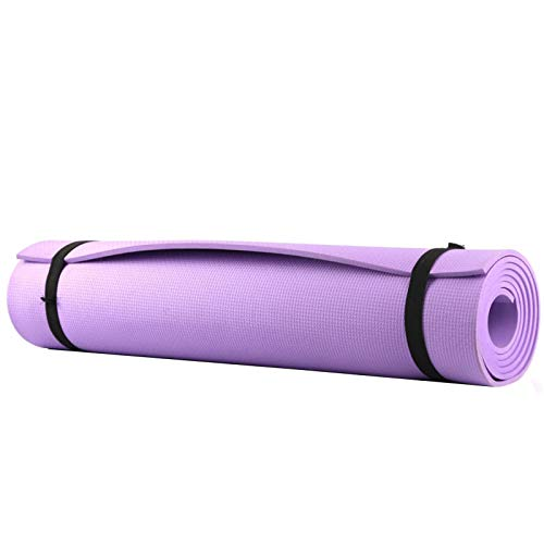 WXL Estera De Yoga 4 mm Antideslizante Yoga Mat Gruesa Espuma Grande Ejercicio Gym Fitness Pilates púrpura Estera de la Aptitud for los Deportes Estera de Yoga Colchoneta De Ejercicio (Color : B)