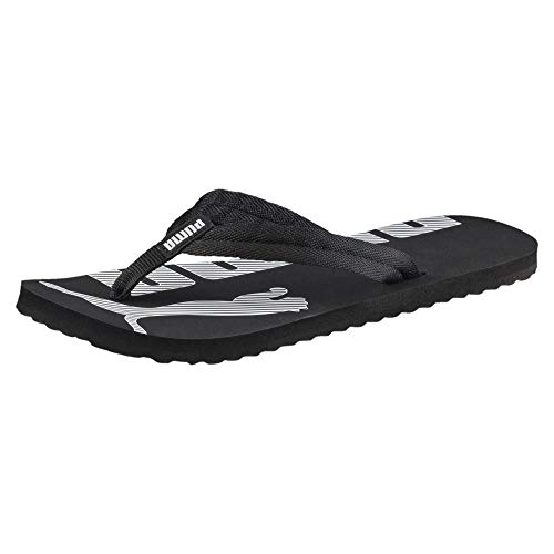 PUMA Epic Flip V2, Chanclas Unisex Adulto, Negro (Black/White), 47 EU