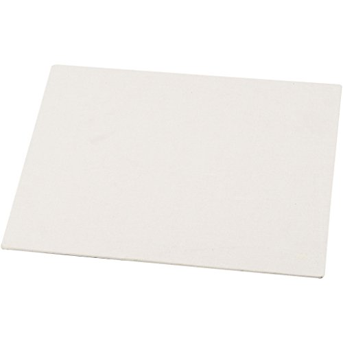 Lienzo en tablilla, medidas 18x24 cm, grosor 3 mm, 280 gr, 10ud