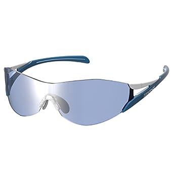 SWANS(スワンズ) スポーツ サングラス ソウ2 ミラーレンズモデル SOU2-0714 WBU ホワイト×ブルー/シルバーミラー×ULTRAアイスブルーレンズ