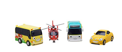 Little Bus TAYO FRIENDS Special Mini 4 Pcs No.4 Peanut, Shine ,air ,Kinder by Tayo the Little Bus