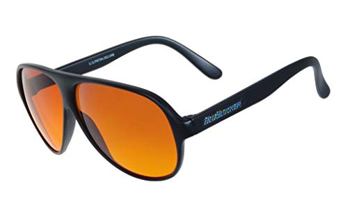 Polarized Black Aviator BluBlocker Sunglasses - 0406K