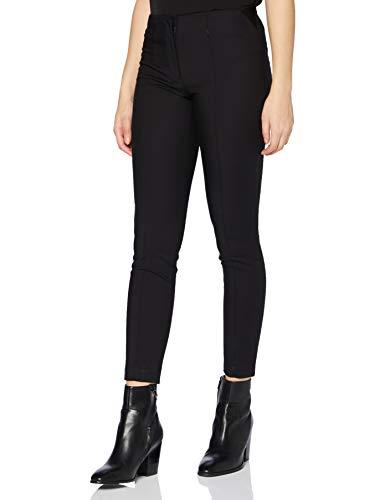 Only ONLADELA-Berit MW Slim Pant TLR Pantaln, Negro, 38W x 32L para Mujer