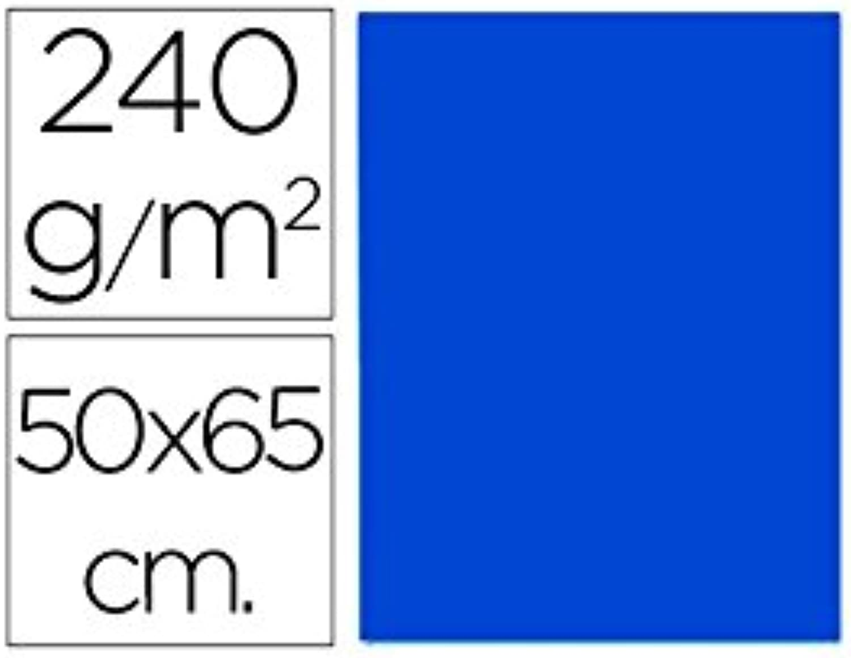 Liderpapel CX53 Karton, 50 x 65 cm, Saphirblau B00PDRDAX4  | Qualität zuerst