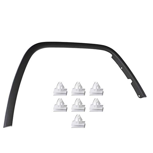 Front Passenger Side Black Wheel Molding Fender Flare Fit for Jeep Grand Cherokee 2011 2012 2013 2014 2015 2016 2017 CH1291106