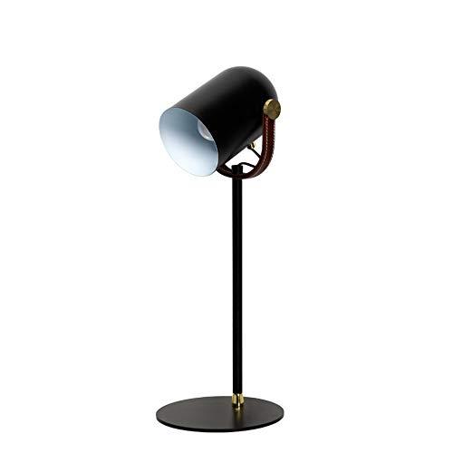 GLYYR Lámpara de Escritorio Lámpara Creativa Escritorio lámpara Moderna Minimalista Escritorio nórdico Lectura lámpara Aprendizaje Trabajo Oficina protección Ojo Lara lámpara de Escritorio 20 * 55
