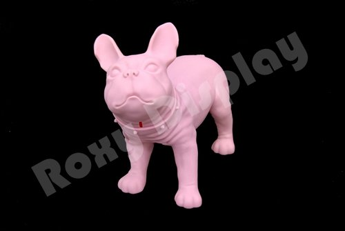 (MZ-KEVIN1PK-X) ROXYDISPLAY™ Realistic Style Small Dog Mannequin.Can be Used as Piggy Bank