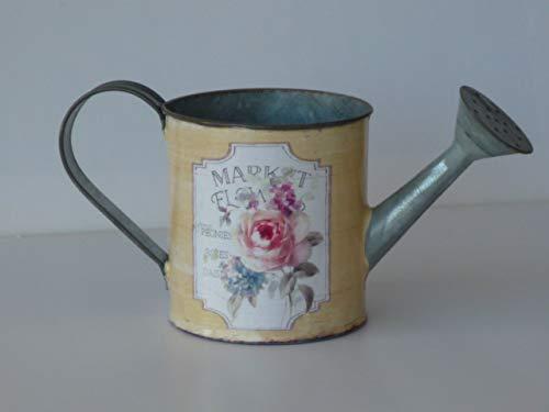 Flowers & Garden zink gieter, geel, plantenbak, bloempot